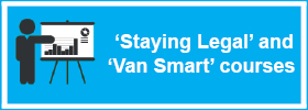 'Staying Legal' and 'Van Smart' courses
