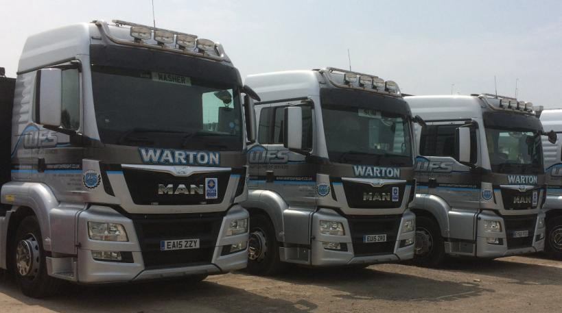 Warton truck 1