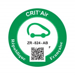crit 39 air vehicle emissions sticker system in france fors fleet operator recognition scheme. Black Bedroom Furniture Sets. Home Design Ideas