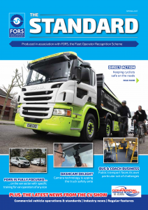 FORS Standard magazine-front cover