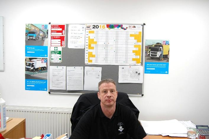 Paul Ahearne, Procurement & Logistics Manager