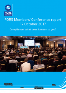 FORS Members Conference report