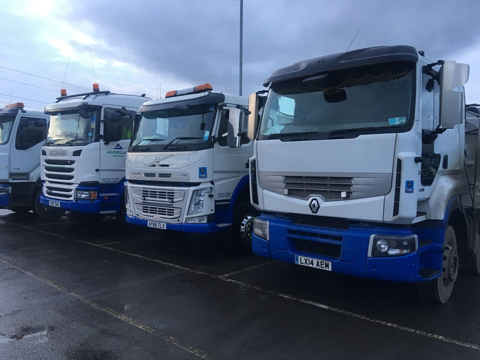 aggregate haulage